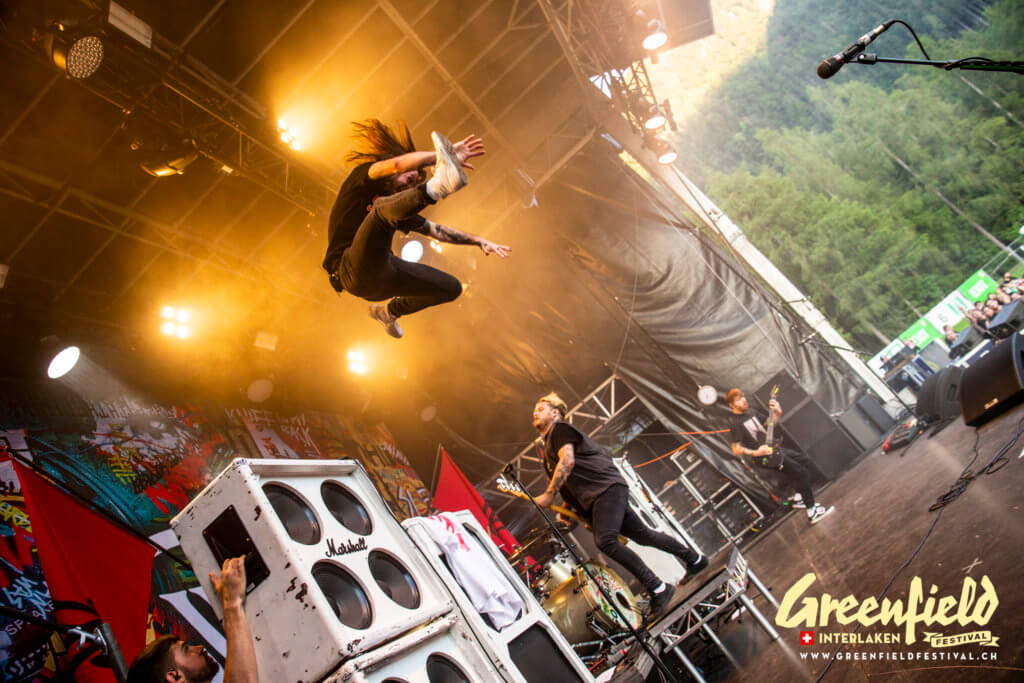 While She Sleeps at Greenfield Festival 2019